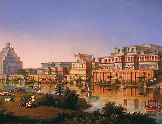 Компьютерная реконструкция Ниневии времен царя Ашшурбанапала