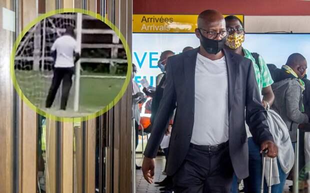 Видео дня: тренер из Замбии помочился на штангу и схлопотал дисквалификацию