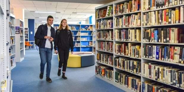 Более 3,8 млн книг выдали в прошлом году библиотеки Москвы по ЕЧБ