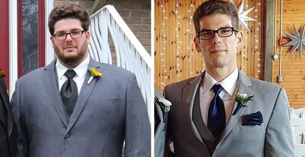 Мужчина  взял себя в руки и похудел на 68 кг в мире, внешность, диета, история, люди, спорт, фигура