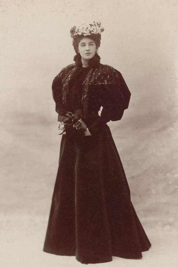 Парижская мода конца 19 века