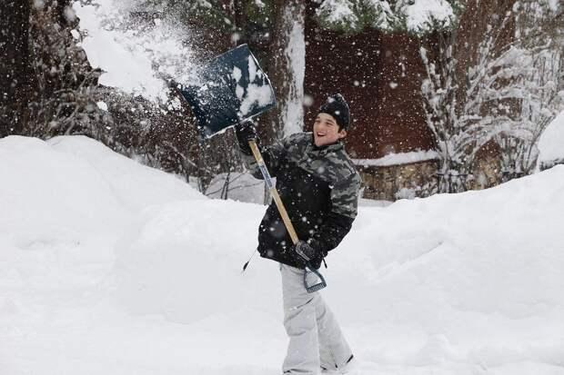 Снег, Лопата, Зима, Уайт, Холодный, Сезон, Снегопад
