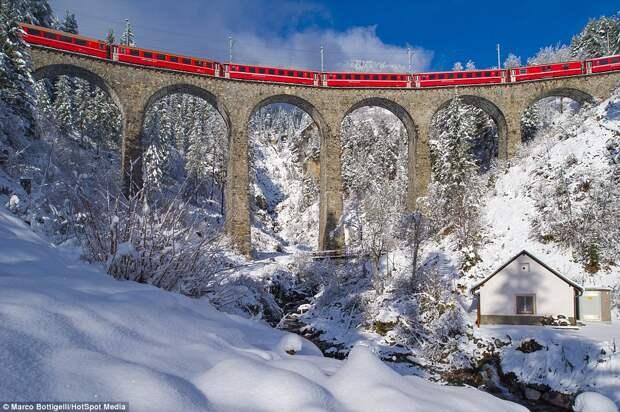 Поезд «Бернина Экспресс»
