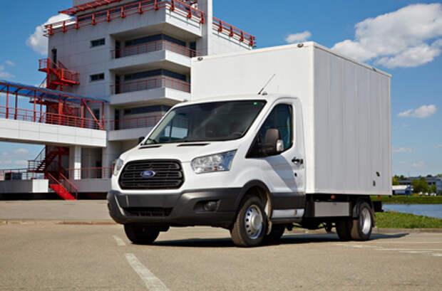 """""""Соллерс Форд"""" увеличил продажи Ford Transit в 1 полугодии 2021 года на 62%"""