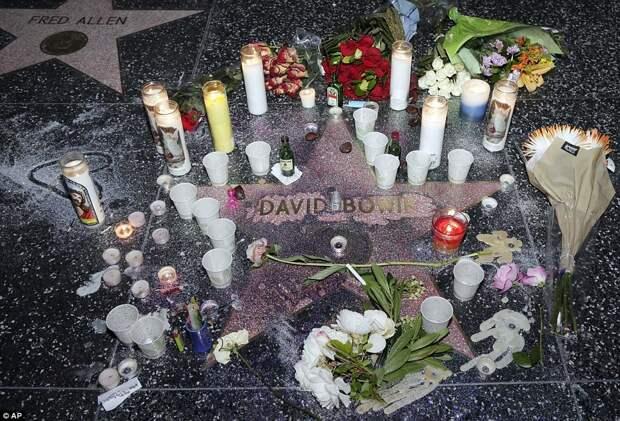 Умер Дэвид Боуи