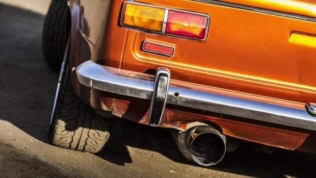 ВАЗ-2101 WRX STI: Оранжевый дипломат от Челентано