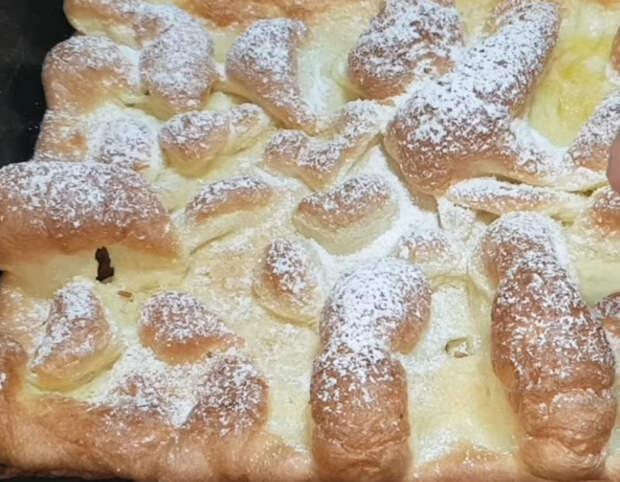 Необычные «вулканические» булочки за несколько минут из 4-х ингредиентов