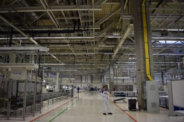 Завод двигателей VW в Калуге