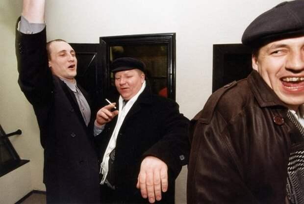Пьяная троица. Евгений Кондаков, 1989 - 1993 год, из архива МАММ/МДФ.