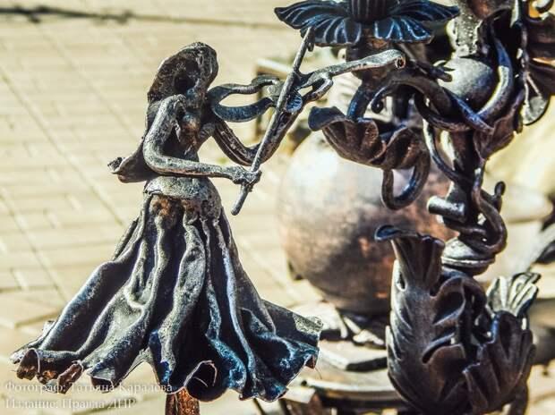 Фестиваль кузнечного искусства в Донецке