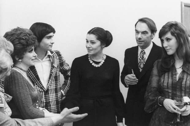 Джина Лоллобриджида и советские знаменитости