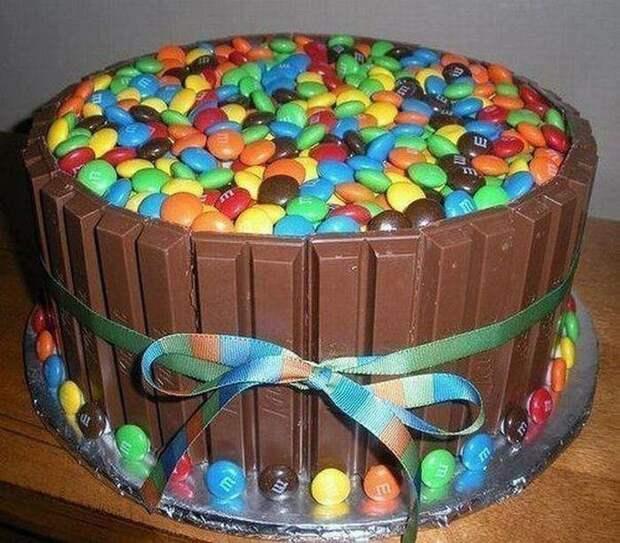 M&M'шное счастье еда, торт