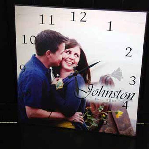 часы своими руками сделаем в подарок