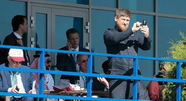8. Глава Чечни Рамзан Кадыров.