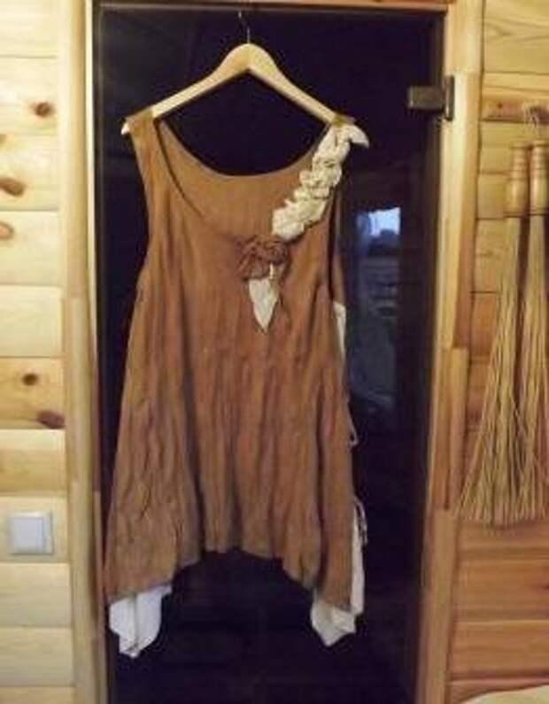 Бохо туника из юбки и блузки