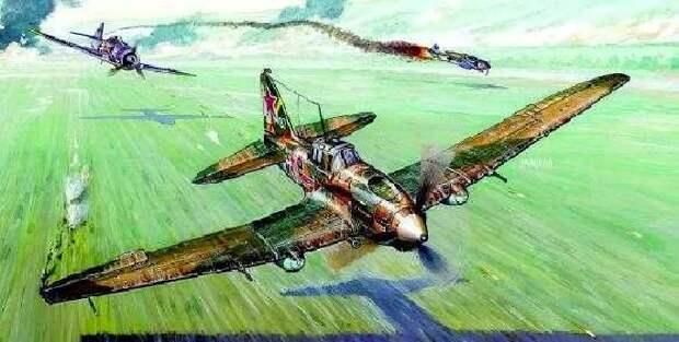 Самый массовый самолет в истории — советский Ил 2