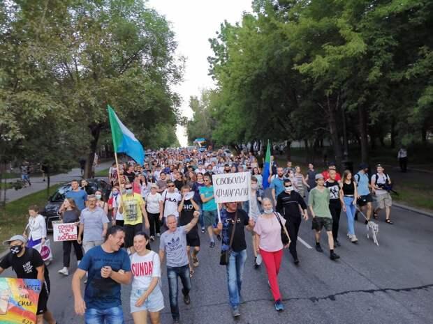 О событиях в Хабаровске от самого жителя Хабаровска