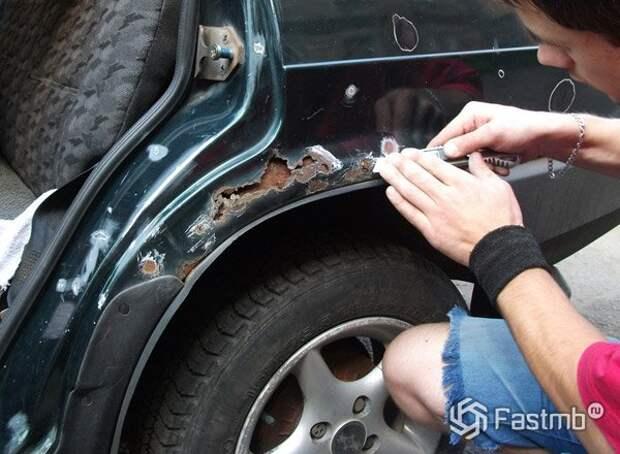 Как спасти автомобиль от дорожной соли?