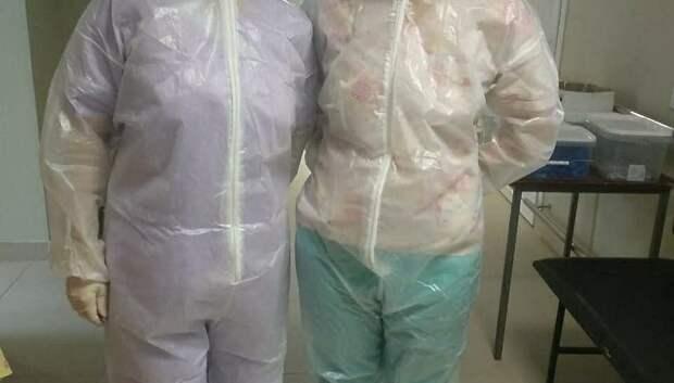 Работники экстренных служб Подольска обеспечиваются медмасками в приоритете