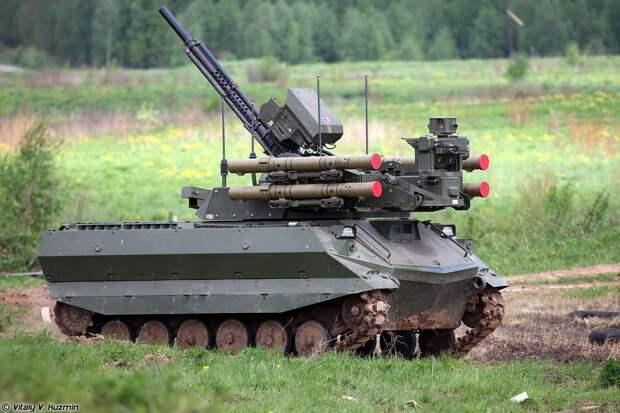 Боевые роботы «Платформа-М» были успешно испытаны на учениях