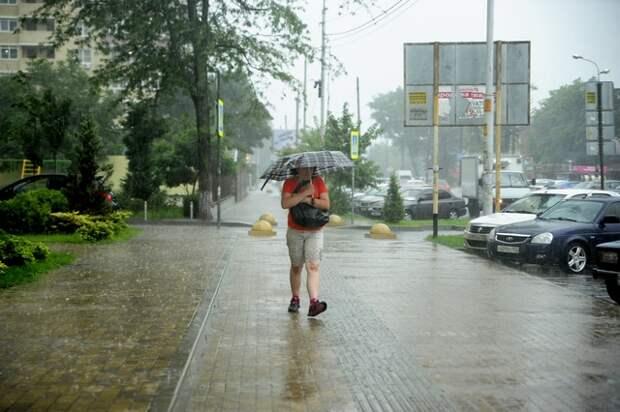 На Кубань обрушатся ливни с градом