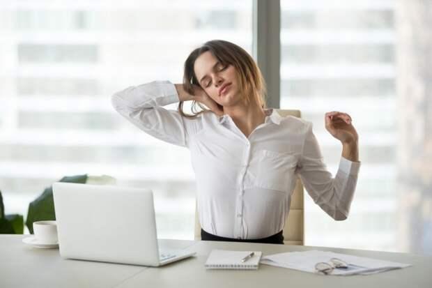 Как быстро снять напряжение в шее?
