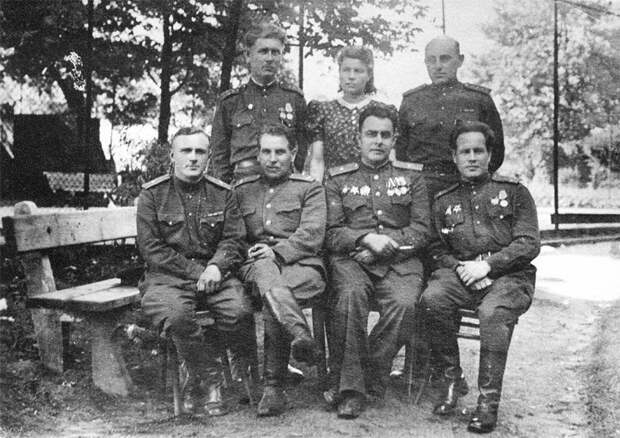 Личный состав политотдела 18 армии сентябрь 1945 года