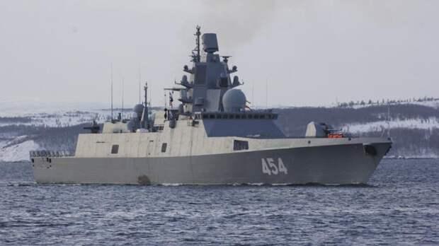 Первым носителем гиперзвукового оружия станет фрегат «Адмирал Горшков»