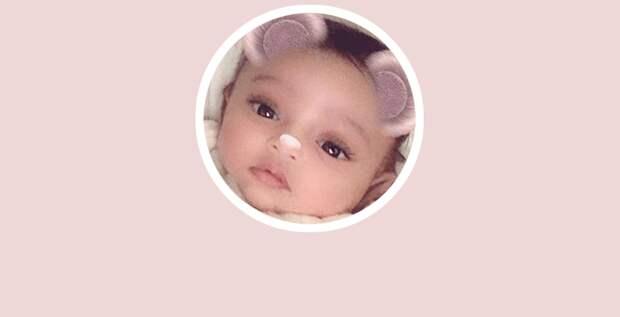 Ким Кардашьян опубликовала первую фотографию дочери Чикаго