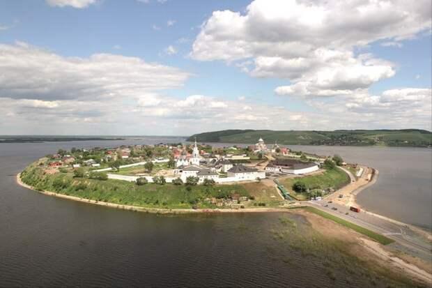 Остров-град Свияжск в Татарстане получил статус заповедника