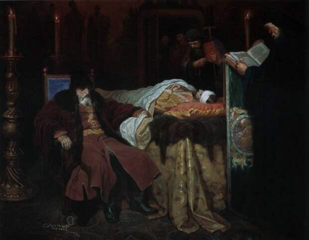 Московское царство в произведениях русских художников