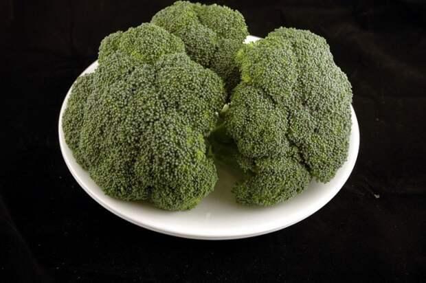Брокколи — 588 г диета, еда, калории