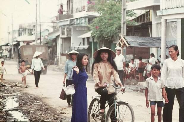 Сцены из жизни в Сайгоне, Вьетнам, 1970-75 годы