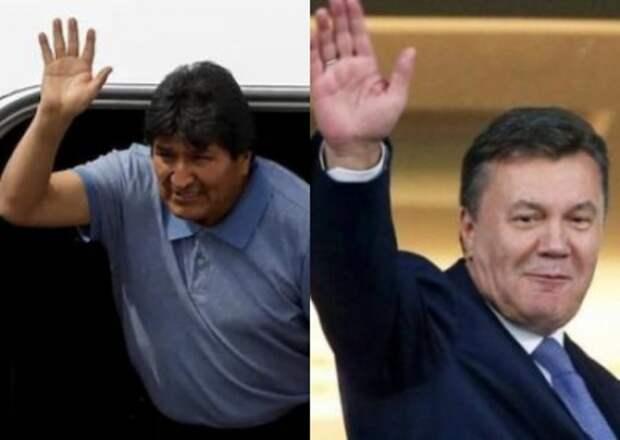 Судьба Януковича и Моралеса. Почему в Боливии и на Украине стали возможны перевороты?