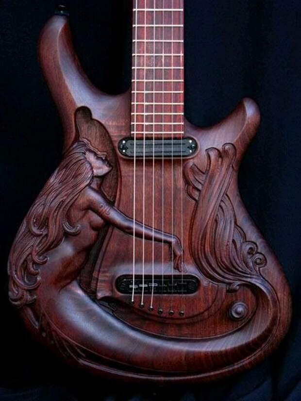 Резные гитары Dug Rowell