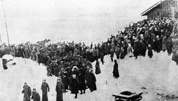Похороны Ленина. Москва. Январь 1924 года.