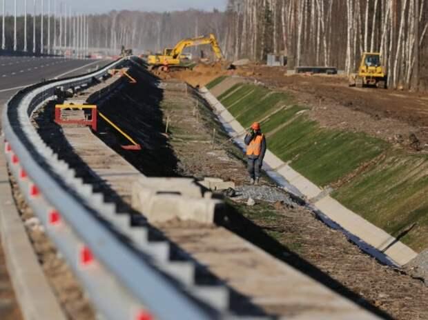 На Калужском шоссе установят 18,5 км новых усиленных отбойников