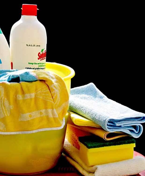 Жир можно отмыть как химикатами, так и органическими средствами