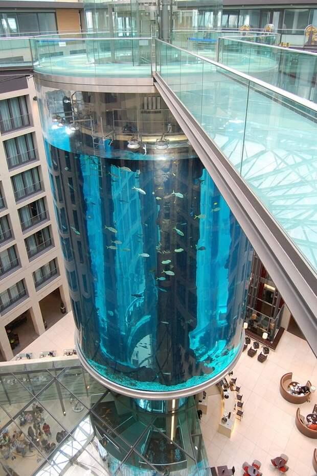 11 Самых необычных лифтов