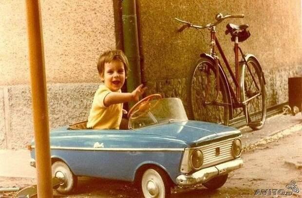 Педальное счастье или роскошь для малышей СССР СССР, авто, история, прикол, факты