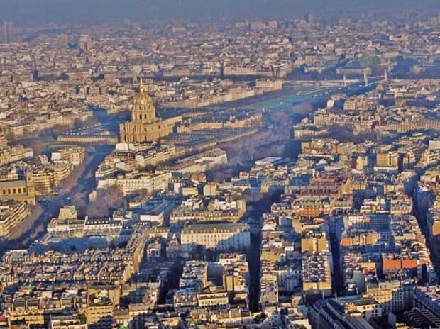 В Париже из-за загрязнения воздуха ввели систему чет/нечет