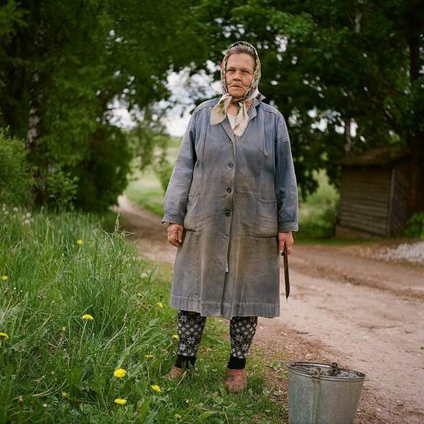 Баба Таня Изборск, варвара лозенко, русская деревня, фотография