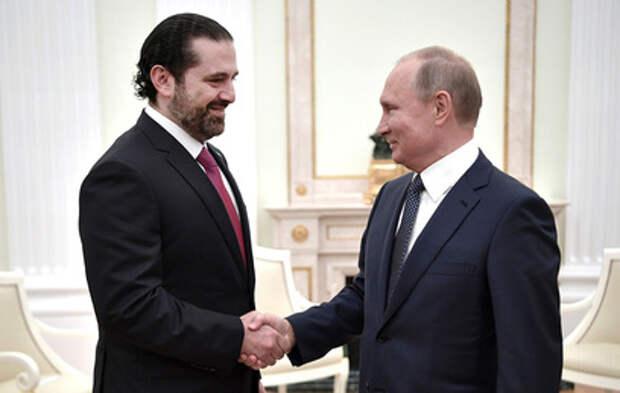 Путин поговорил с премьером Ливана