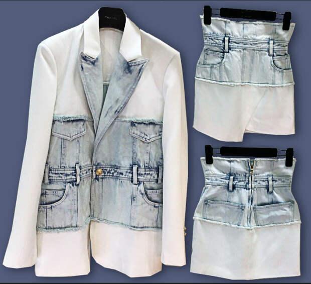 Гибридное джинсовое