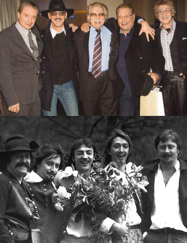Мушкетеры спустя годы
