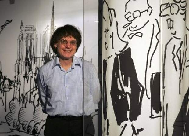 Художник Жан Кабу, погибший во время теракта