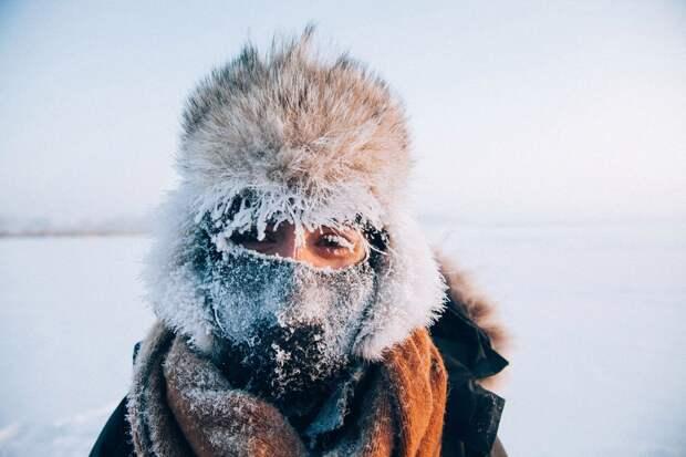 -40 в якутской деревне: люди ходят как обычно