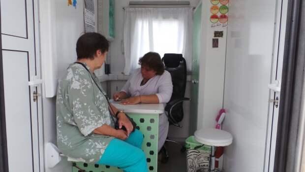 «Мобильный медицинский центр» Евгения Кабанова продолжает свою работу