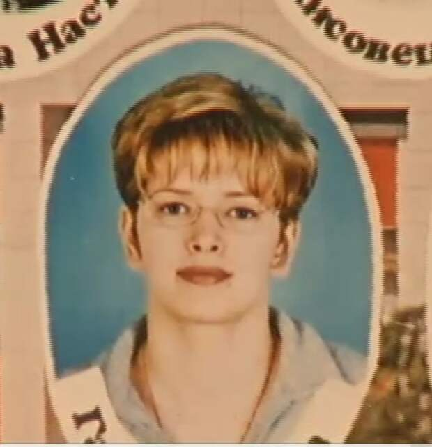 Звезда-блондинка в детстве :)