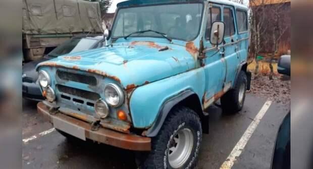 В Исландии нашли самый ржавый УАЗ-469 из существующих